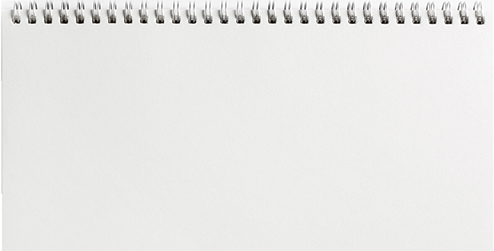 Image of a blank notepad