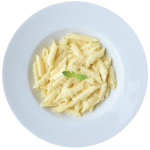 Image of four cheese penne pasta