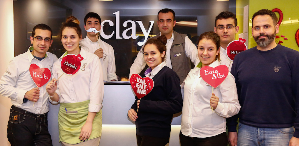 Image of Clay restaurant's employees